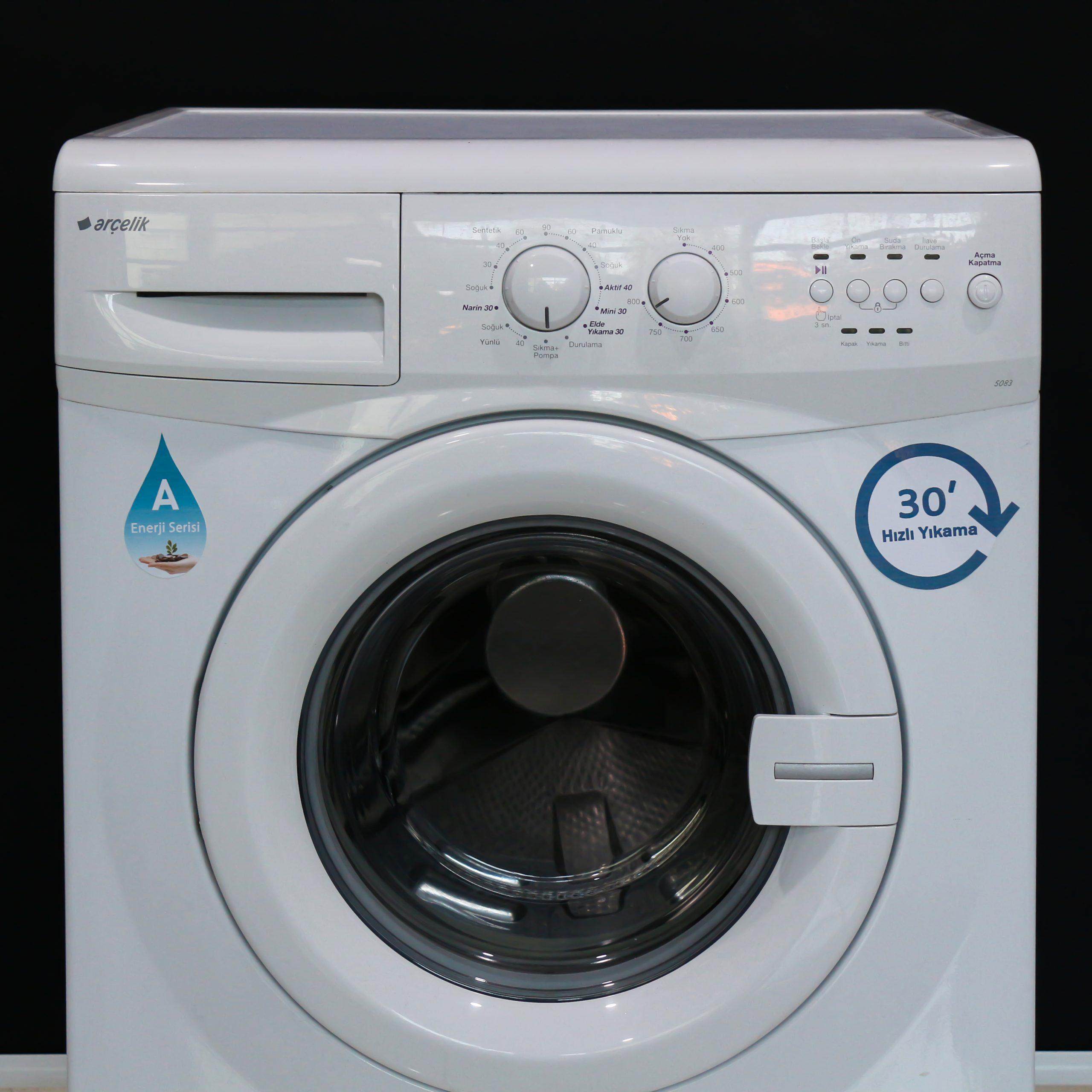 arcelik 5 kg ikinci el temiz camasir makinesi